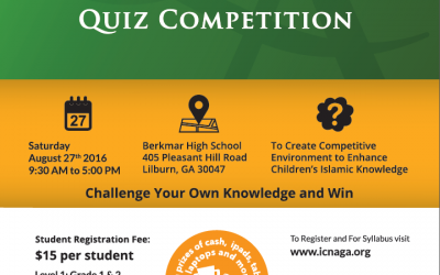 Young Muslims Quiz Competition 2016