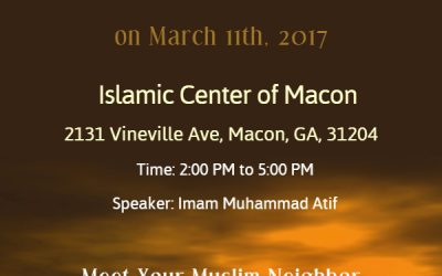 Visit a Mosque Day 2017