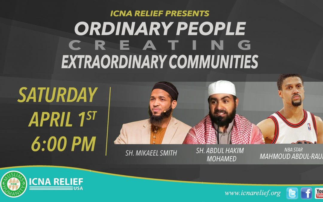 ICNA Relief Annual Banquet